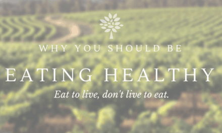 Why You Should Be Eating Healthy